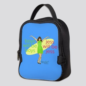 New Girl Jess will be Jess Neoprene Lunch Bag