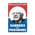 Bernie Sanders For President - Mini Poster Print