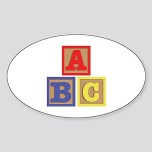 ABC Blocks Sticker