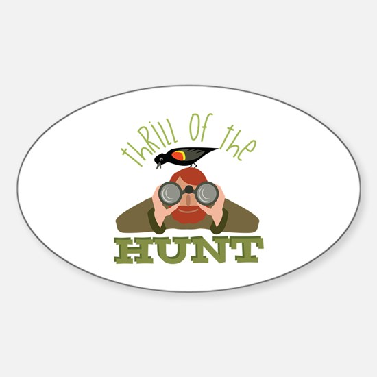 Thrill Of Hunt Decal