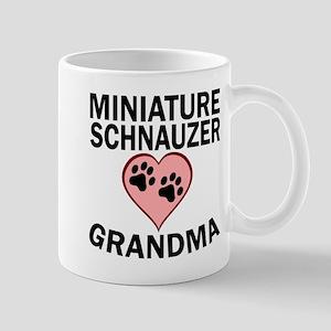 Miniature Schnauzer Grandma Mugs