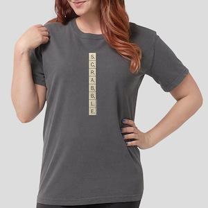 Scrabble Tiles Womens Comfort Colors Shirt