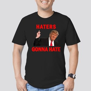 Trump Haters Men's Fitted T-Shirt (dark)