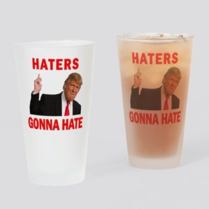 Trump Haters Drinking Glass