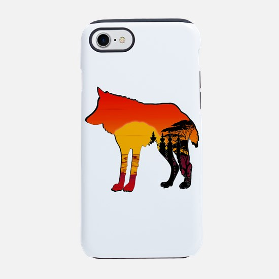 WOLF DAY iPhone 8/7 Tough Case