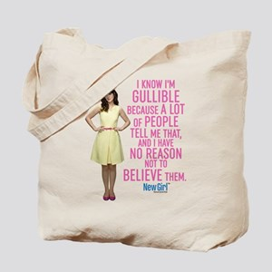 New Girl Gullible Tote Bag