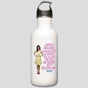 New Girl Gullible Stainless Water Bottle 1.0L