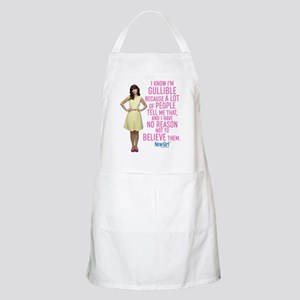 New Girl Gullible Apron