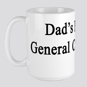 Dad's Future General Contractor  Large Mug
