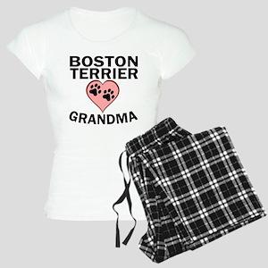 Boston Terrier Grandma Pajamas