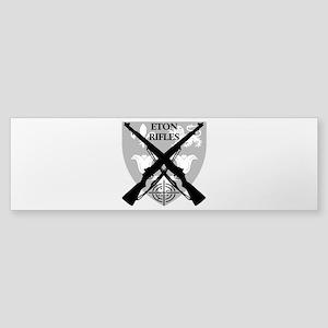 Eton Rifles Bumper Sticker