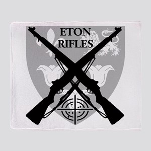 Eton Rifles Throw Blanket