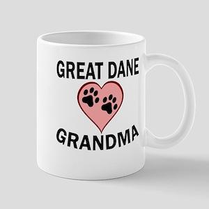 Great Dane Grandma Mugs