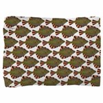 Starry Flounder Pattern Pillow Sham