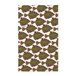 Starry Flounder Pattern Area Rug
