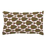 Starry Flounder Pattern Pillow Case