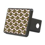 Starry Flounder Pattern Hitch Cover