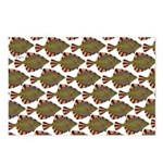 Starry Flounder Pattern Postcards (Package of 8)