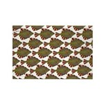 Starry Flounder Pattern Magnets