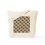 Starry Flounder Pattern Tote Bag