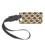 Starry Flounder Pattern Luggage Tag