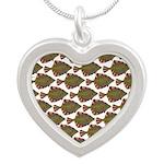 Starry Flounder Pattern Necklaces