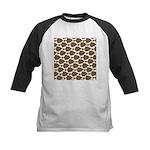 Starry Flounder Pattern Baseball Jersey