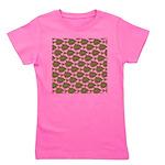 Starry Flounder Pattern Girl's Tee