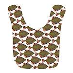 Starry Flounder Pattern Bib