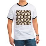 Starry Flounder Pattern T-Shirt