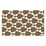 Starry Flounder Pattern Sticker