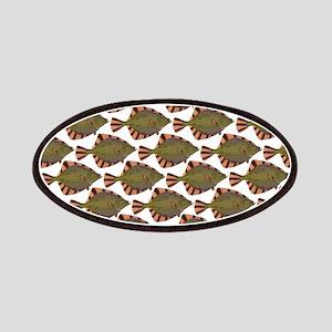 Starry Flounder Pattern Patch