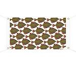 Starry Flounder Pattern Banner
