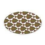 Starry Flounder Pattern Wall Decal