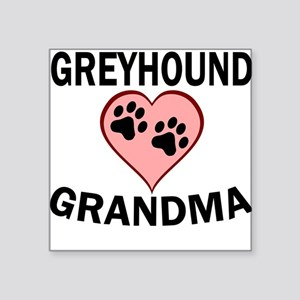 Greyhound Grandma Sticker