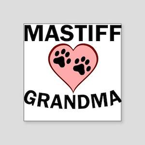Mastiff Grandma Sticker