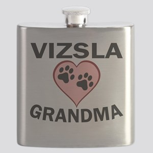 Vizsla Grandma Flask