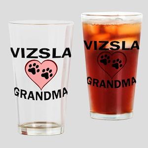 Vizsla Grandma Drinking Glass