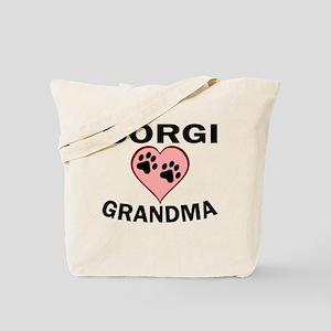 Corgi Grandma Tote Bag