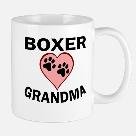 Boxer Grandma Mugs
