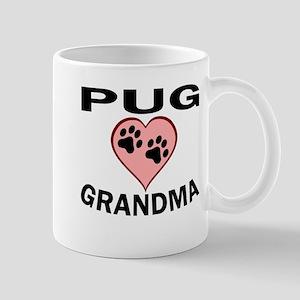 Pug Grandma Mugs
