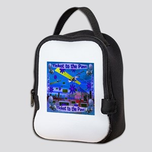 Ticket to the Past Neoprene Lunch Bag