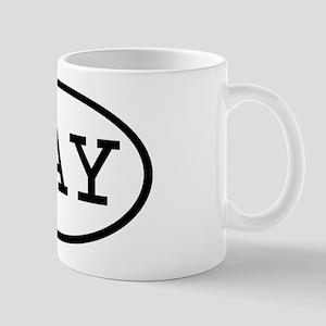 HAY Oval Mug