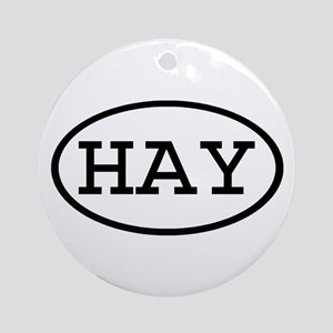 HAY Oval Ornament (Round)