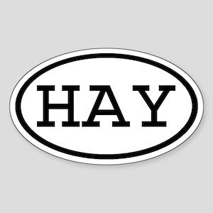 HAY Oval Oval Sticker