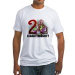 21st Gifts Fitted T-Shirt