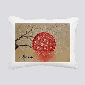 Japan Rectangular Canvas Pillow