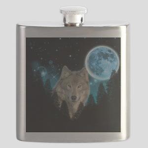 Wolf StarLight Flask
