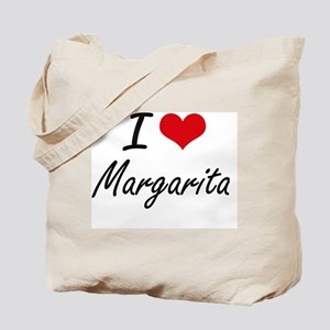 I Love Margarita artistic design Tote Bag