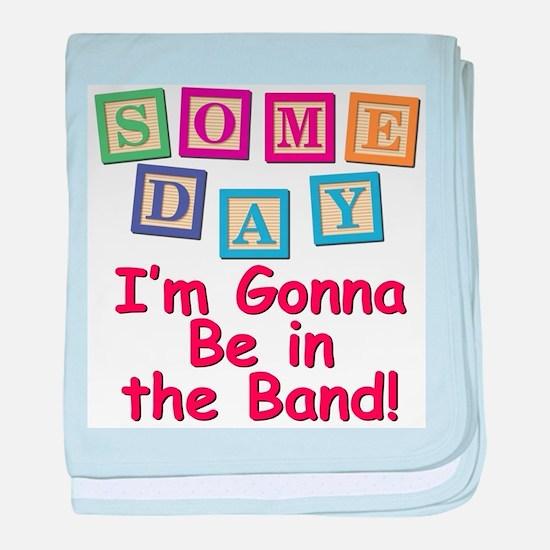 Someday Band baby blanket